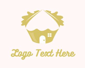 Cupcake - Oak Cupcake logo design