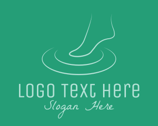 Foot - Foot Spa logo design