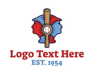 Tournament - Baseball Players logo design