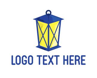 Lantern - Blue Lantern logo design