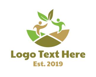 """""""Nature Leaf Partner """" by LogoBrainstorm"""
