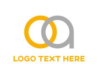 Silver - O & A logo design