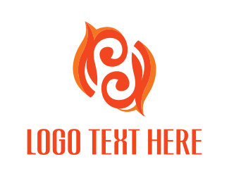 Jewelery - Twirl Flame logo design