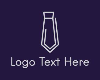 Paper Clip - Clip Tie logo design