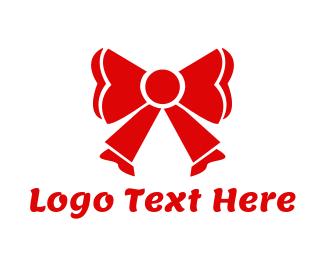 Bow - Red Ribbon logo design