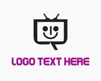 Television - Happy  Robot  logo design