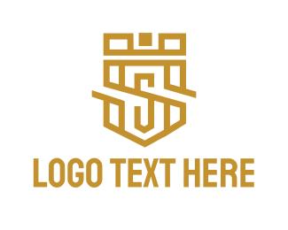 Luxury S Shield Logo