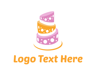 Wedding - Sweet Cake logo design