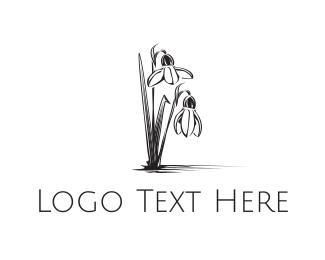 Orchid - Swamp Flower logo design