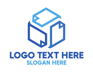 File - Cube Pages logo design