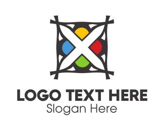 Tile - Bird & Flower logo design