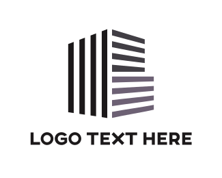 Concrete - Building Architecture logo design