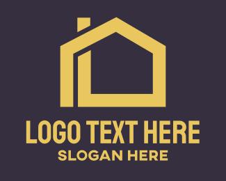 Minimalist - Minimalist House Outline logo design