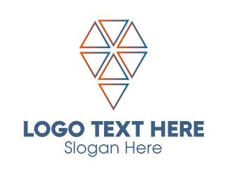 Ice Cream - Abstract Ice Cream logo design