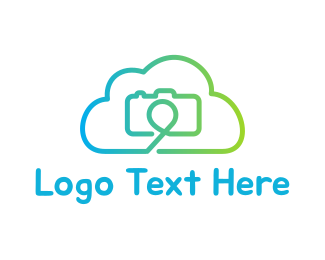 File - Camera Cloud logo design