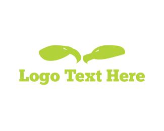 Falcon - Green Eagles logo design