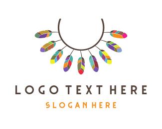Necklace - Ancient Necklace logo design
