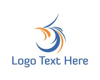 Plumage - Bird Face logo design
