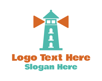 Media Player - Play Lighthouse logo design