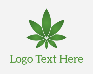 Oil - Star Marijuana logo design