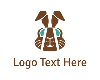 Cocoa - Chocolate Rabbit  logo design