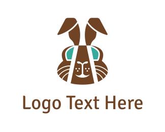 Easter - Chocolate Rabbit  logo design