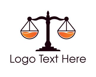Justice - Fresh Justice logo design