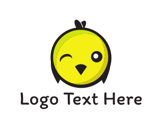 Inflatable - Chick Wink logo design