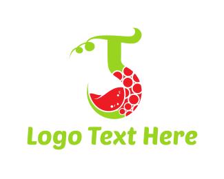 Red Wine - Vine Drink logo design