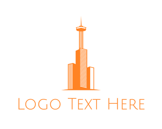 """Orange Tower"" by eightyLOGOS"