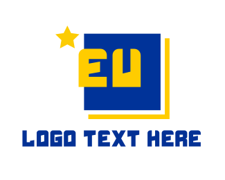 Government - EU Europe logo design