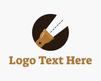 Battery - Road Light logo design