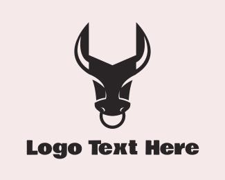 Repair - Wrench Bull logo design