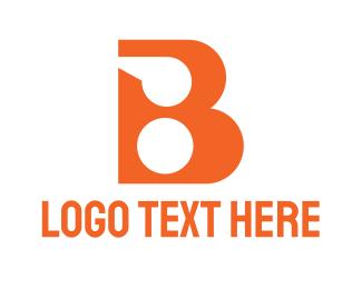 Football - Orange Whistle B logo design