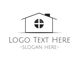 Zoom - Home Camera logo design