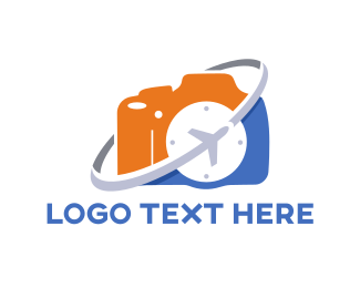 Tour - Travel Camera logo design