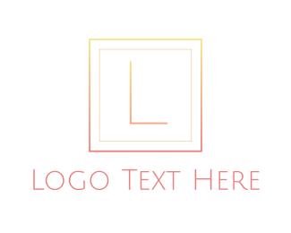 Delicate - Delicate Pink Gradient logo design