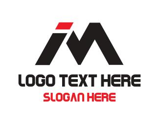 Sporty - I & M logo design