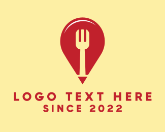 Place - Food Finder logo design