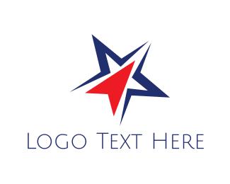Click - Star Click logo design