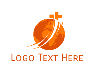 God - World Church logo design