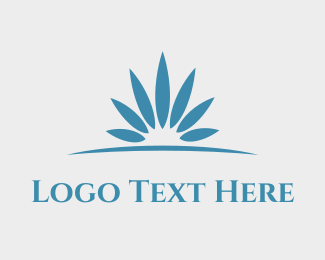Horizon - Horizon Flower logo design