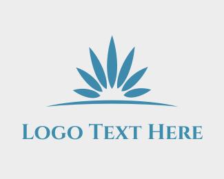 Flower - Horizon Flower logo design