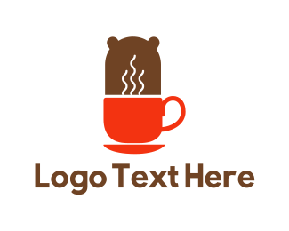 Bear - Coffee Bear logo design