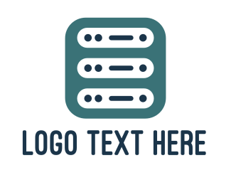 Mobile App - Server App logo design