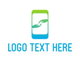 """Mobile App Hands"" by beldinki"