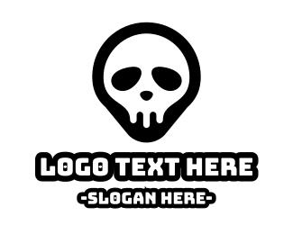 Esports - Skull Pin logo design