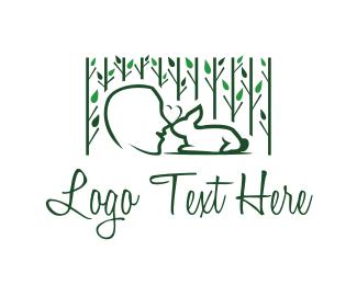 Hare - Bunny Love logo design