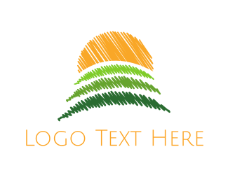 Yard - Sunny Field logo design