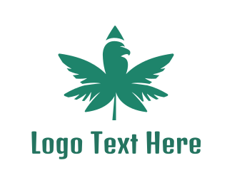 Prohibited - Moss Green Cannabis logo design
